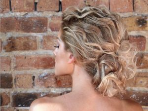 beachy bridal hair