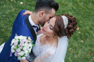 bridal shoot man and woman